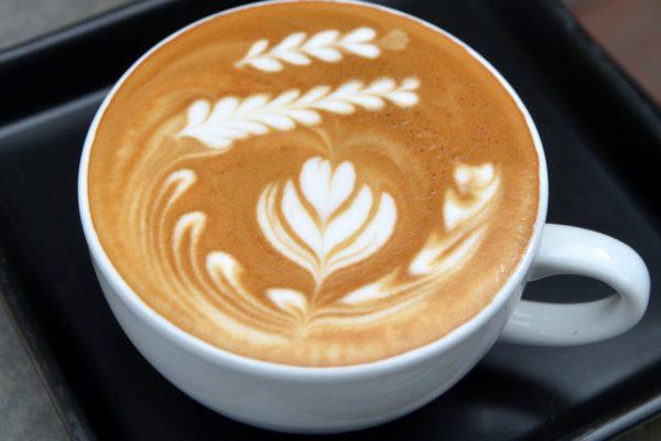A photo of a pumpkin spice latte.
