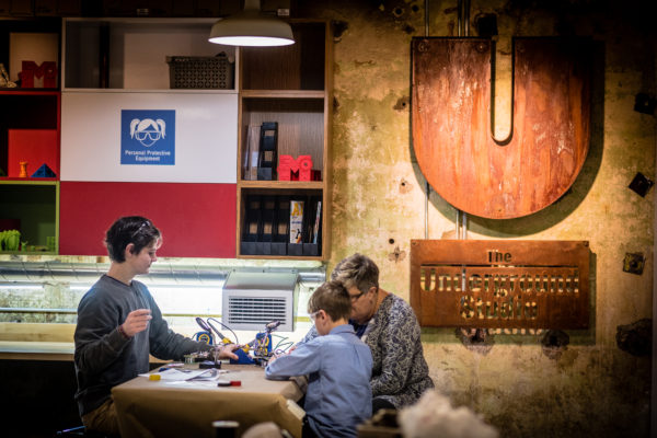 A photo of The Underground Studio MakerSpace at THEMUSEUM.