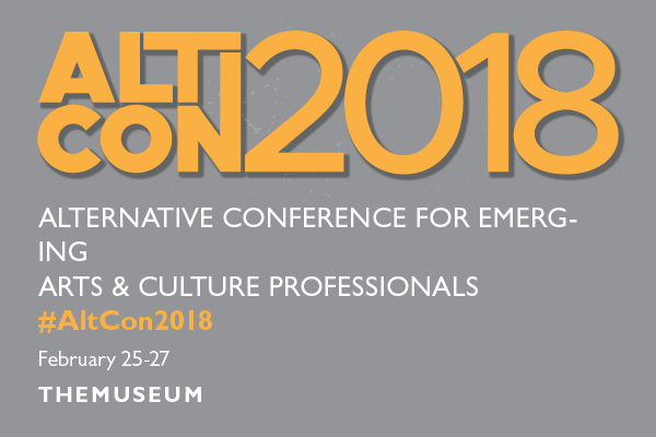 ALTCON conference information. An alternative conference for emerging Arts and Culture Professionals..