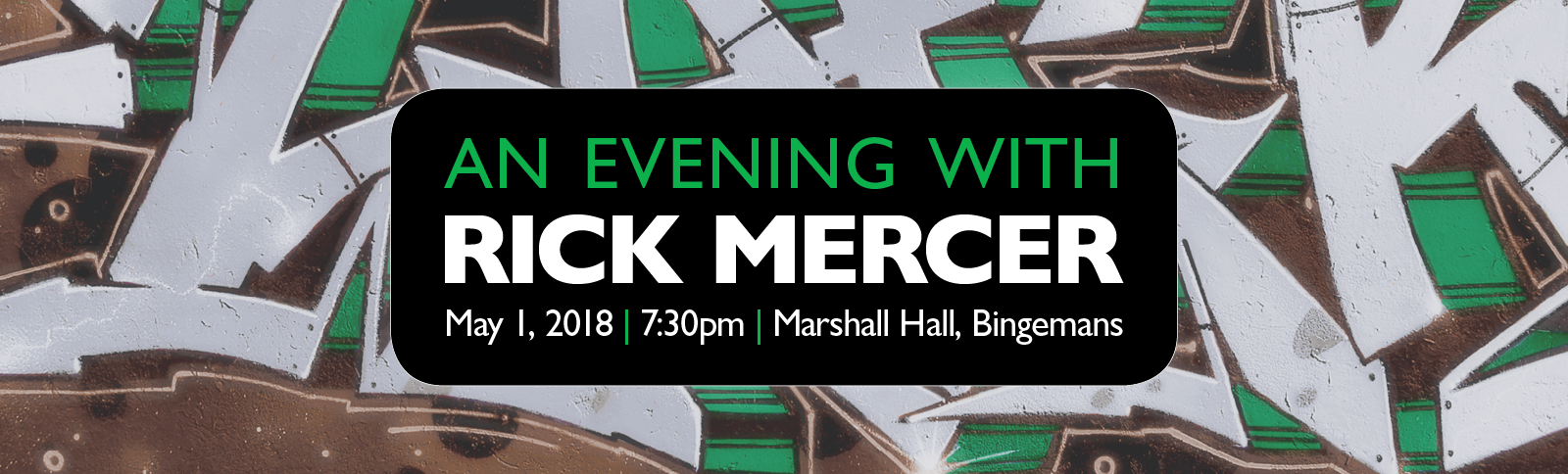 An Evening with Rick Mercer
