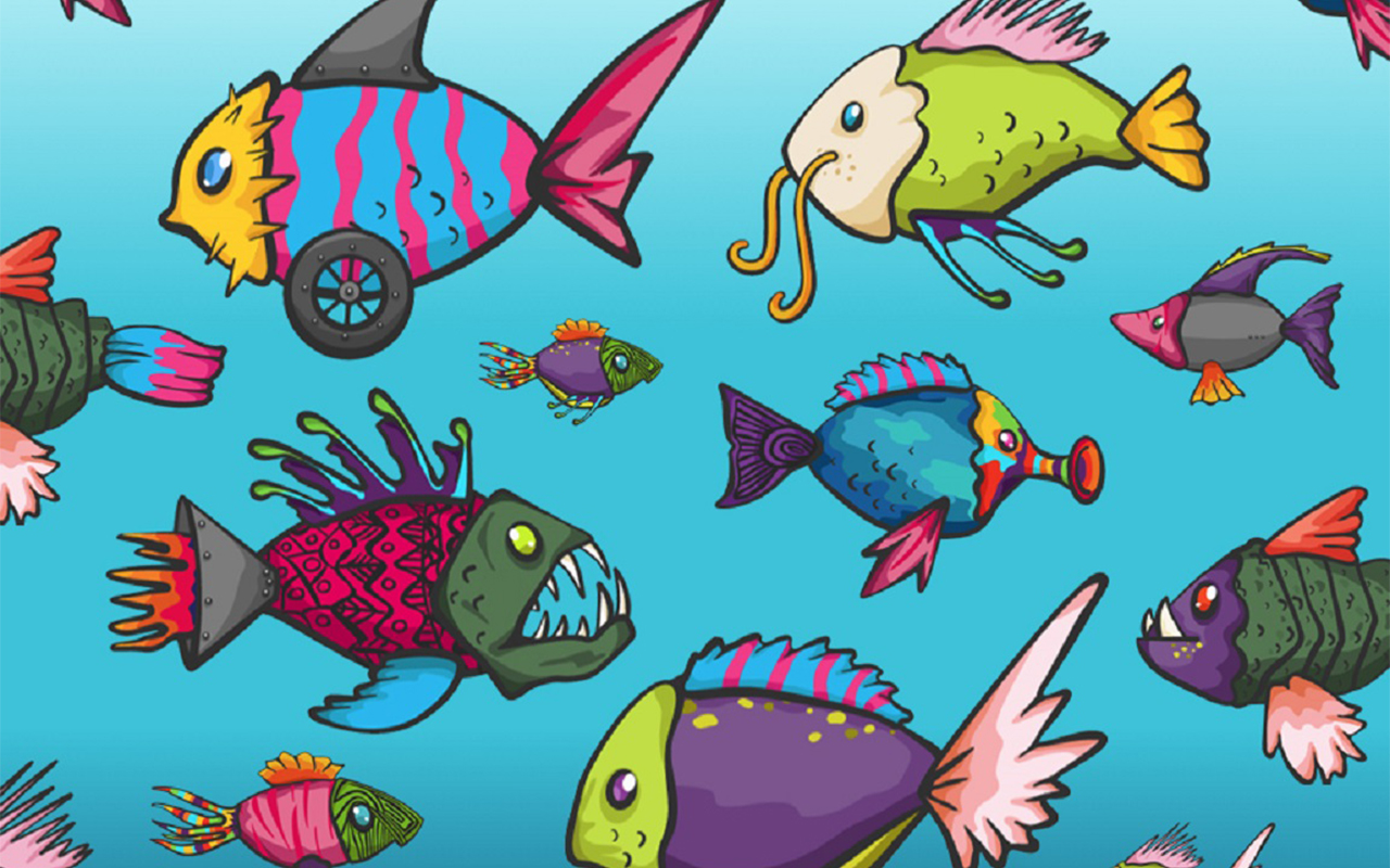 Nifty Fish by Art & Science |Canada | Ages: 3+