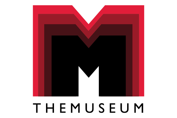 A photo of THEMUSEUM's logo appearing to expand.