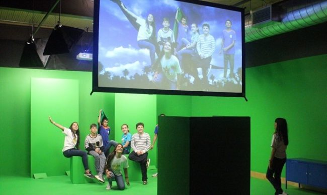 A photo of the TIFF digiPlaySpace at THEMUSEUM.