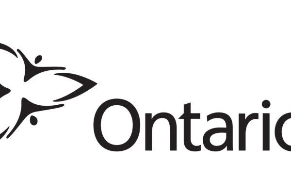 Ontario Trillium logo.